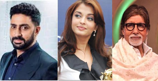 Bachchan family corona positive