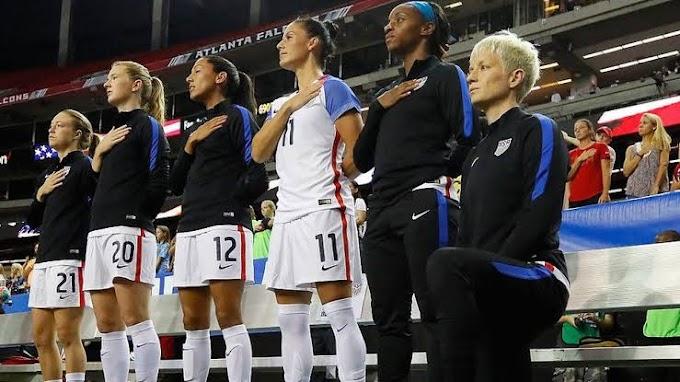U.S Scrap Policy Banning Kneeling During National Anthem