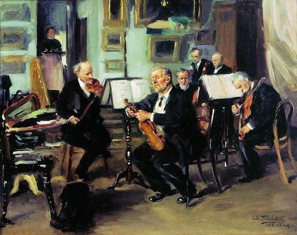 Маковский Владимир Егорович - Музыкальный вечер. 1906