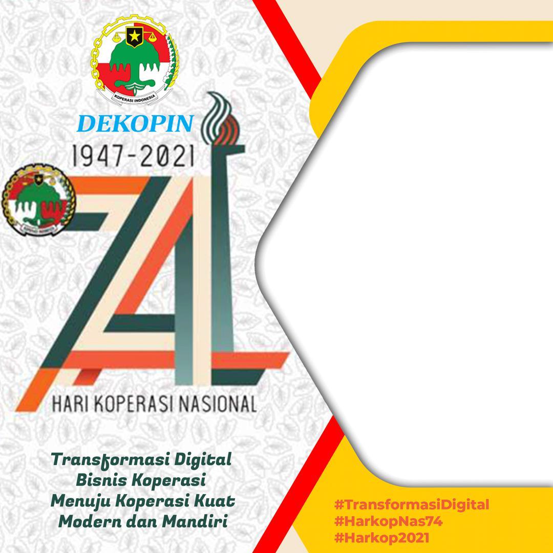 Link Download Frame Bingkai Twibbon HUT Koperasi Nasional 2021 - Twibbonize