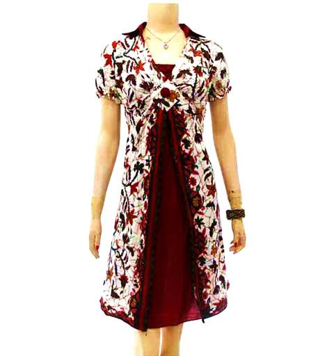 Contoh Gambar Baju Batik Modern: Toko Baju Batik Wanita Modern Model Terbaru Online