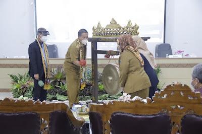 Gubernur Arinal Hadiri Pembukaan PPDS Pulmonologi dan Ilmu Kedokteran Respirasi FK Unila