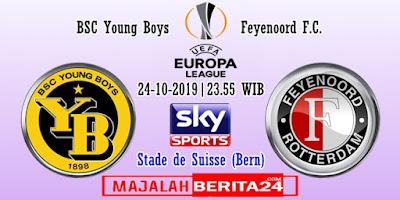 Prediksi Young Boys vs Feyenoord — 24 Oktober 2019