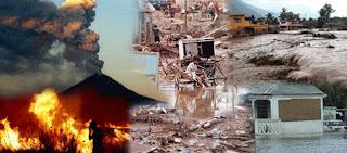 El Bamboleo de la Tierra esta ocasionando desastres naturales.