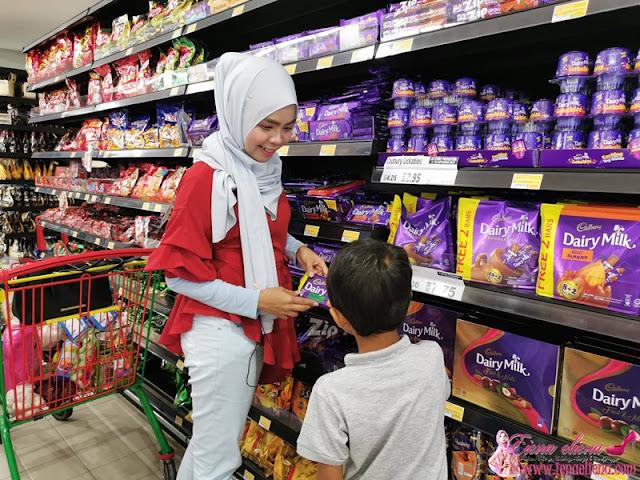 Gambar Membeli Belah di LuLu Hypermarket 1Shamelin Cheras