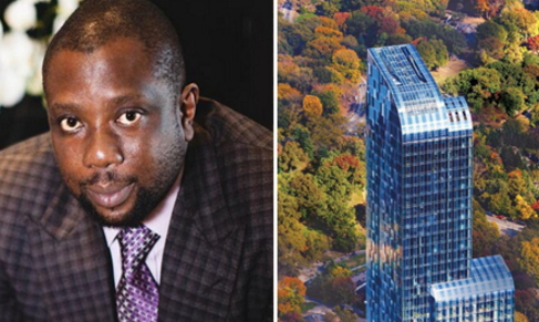 kola aluko new york apartment repossessed