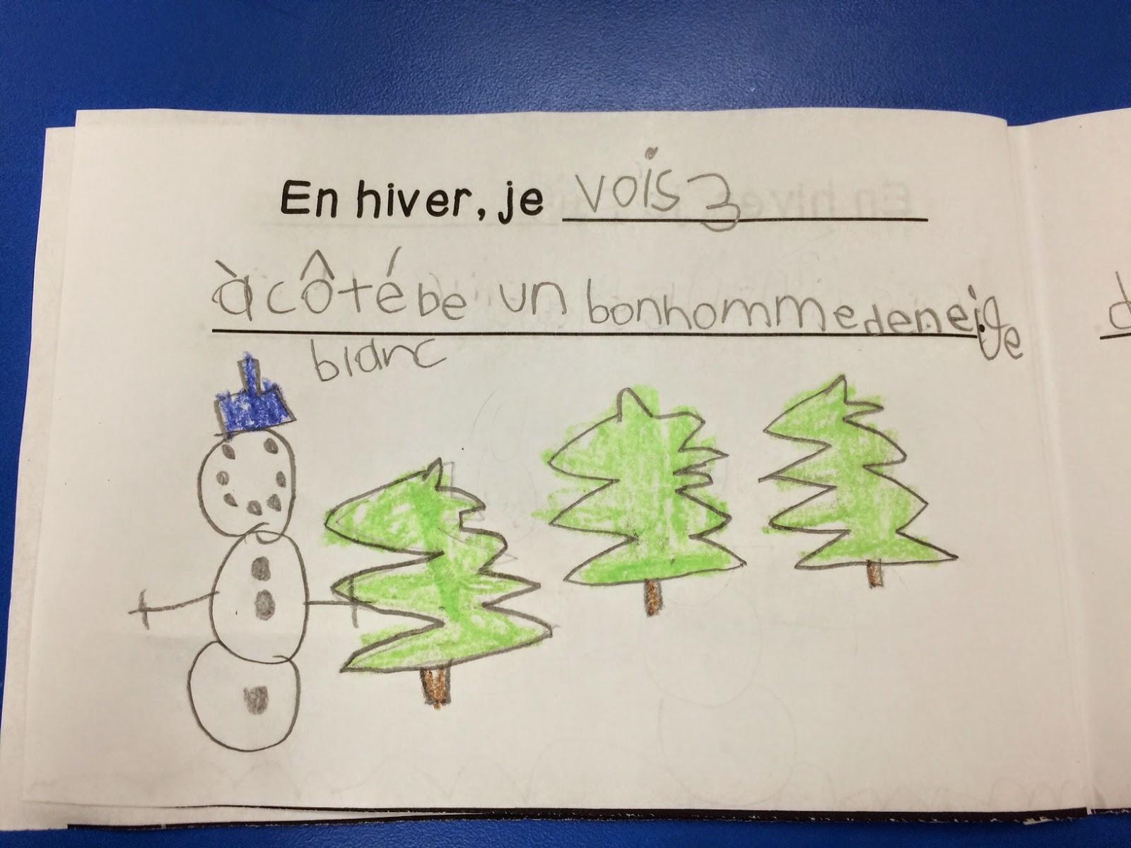 Grade 1 Winter Book