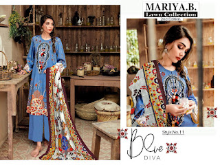 Mariya B Lawn 2nd Edition Pakistani Dress Material