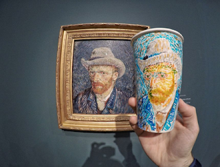 Amsterdam,Portrait Of Van Gogh