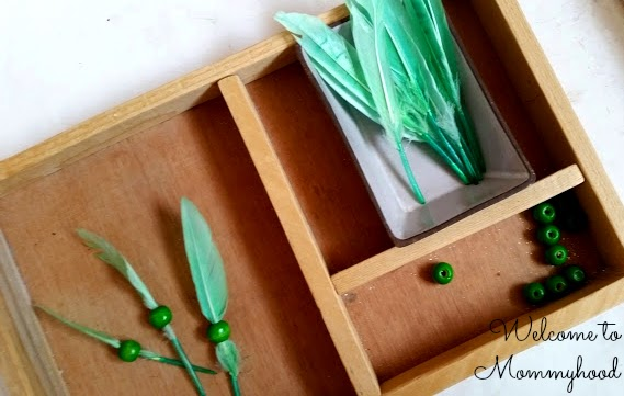 Saint Patrick's Day Activities for Toddlers and Preschoolers: Montessori Fine Motor and Practical Life Trays {Welcome to Mommyhood} #montessori, #saintpatricksdayactivities, #montessoriactivities, #toddleractivities
