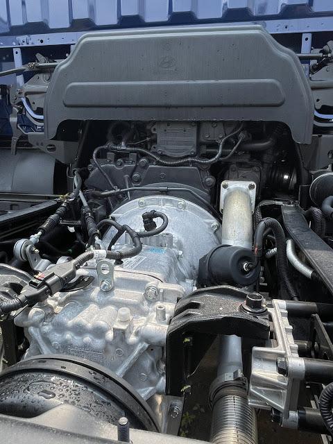 Hộp số Hyundai 110XL thùng bạt