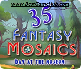 Fantasy Mosaics 35 Day at the Museum PC Game Free Download