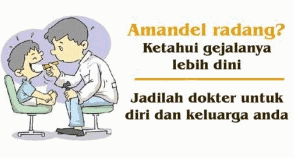 gejala amandel