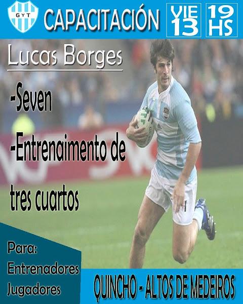 Capacitación de Lucas Borges en Gimnasia y Tiro