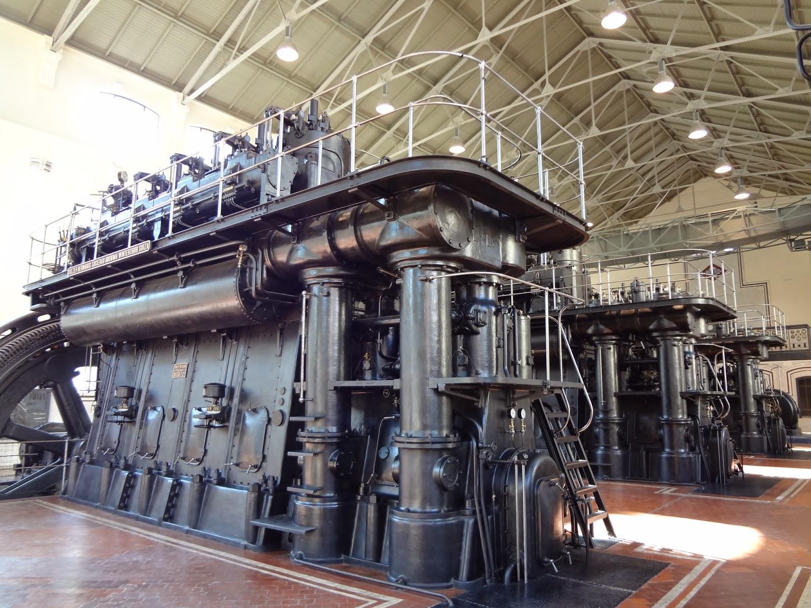 Motores Diesel en la antigua Nave de Motores