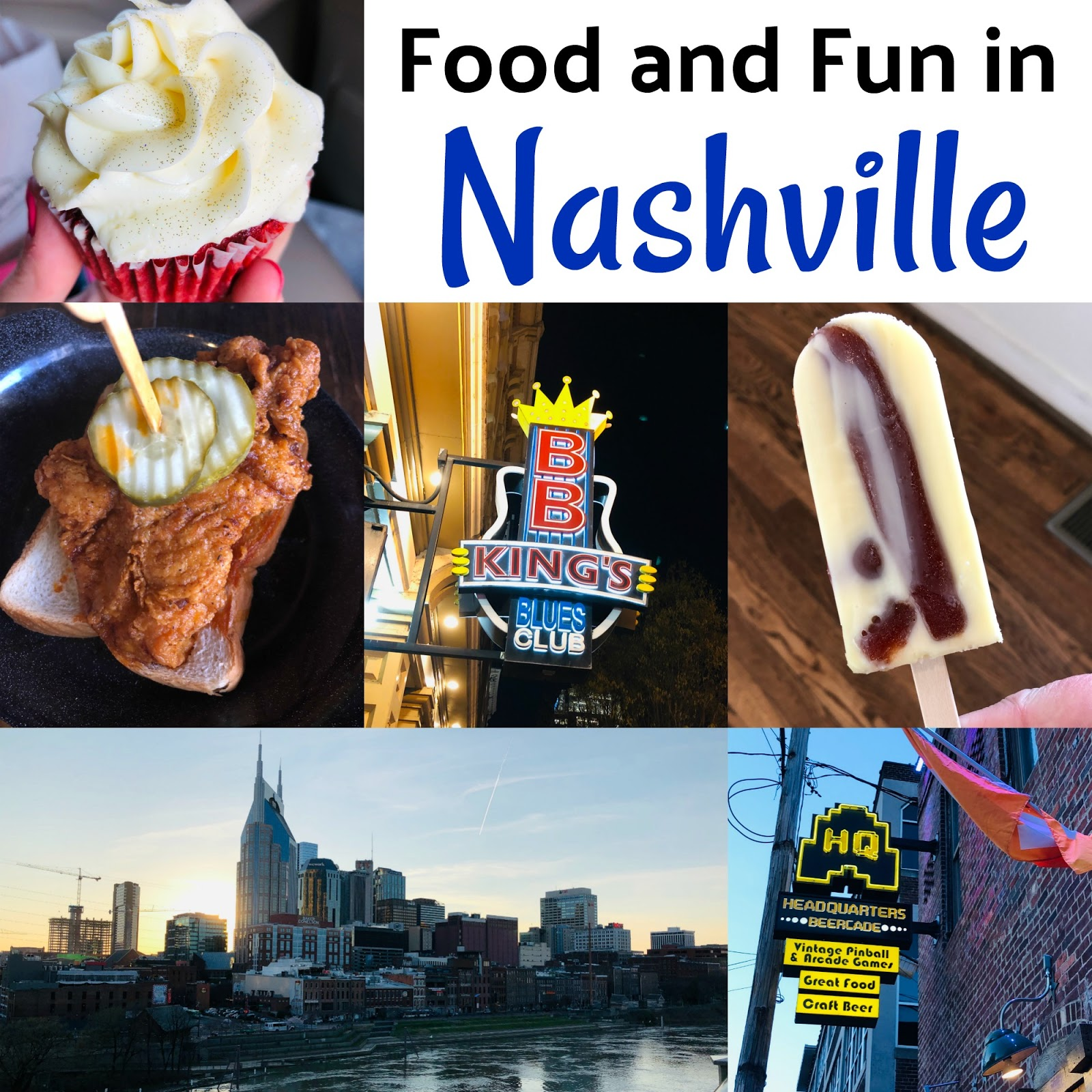 Spending a day or two in Nashville, Tennessee? Check out these wonderful restaurants, bakery, popsicle shop, arcade and more!