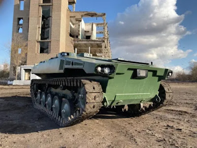 Rússia inicia testes de sua mais nova geração de veículo terrestre não tripulado 2