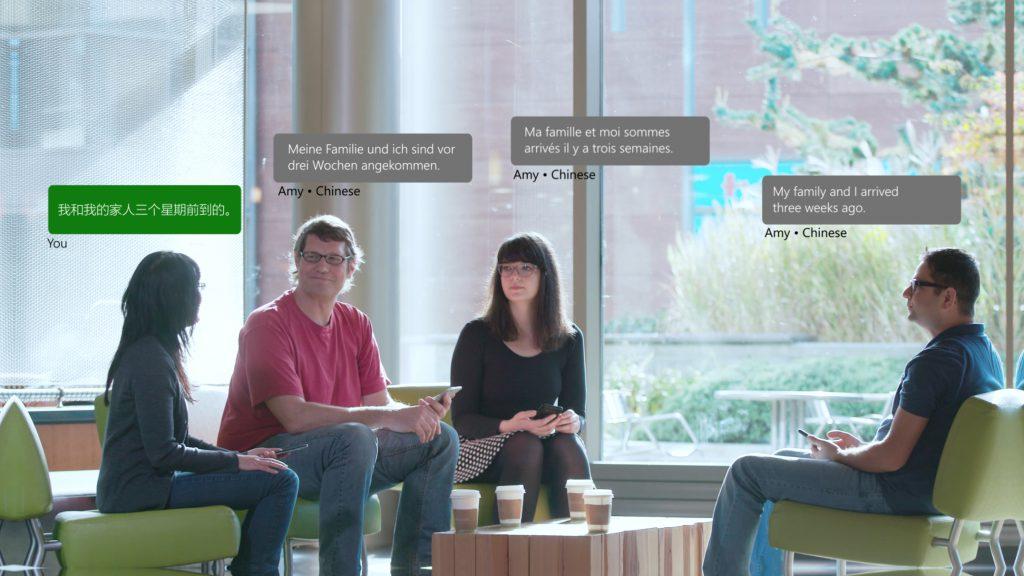 Con l'App Microsoft Translator, 100 utenti di lingue diverse potranno conversare in tempo reale | Video e Download HTNovo