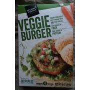 A stock image of Season's Choice Veggie Burgers, from Aldi