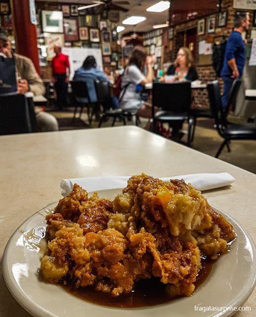 Pudim de pão do Mother's Restaurant, Nova Orleans