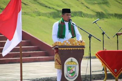 Bupati Pelalawan H Zukri resmi melantik 183 pejabat eselon lll dan lV