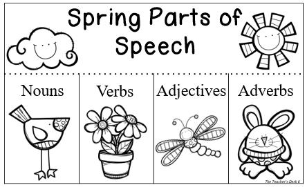 The Teacher's Desk 6...: Springing into Learning Blog Hop