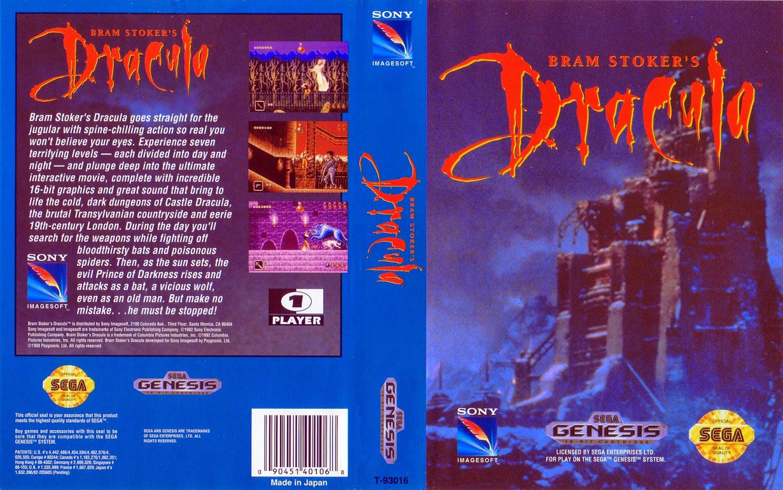 Brett Weiss Words Of Wonder Bram Stoker S Dracula Sega