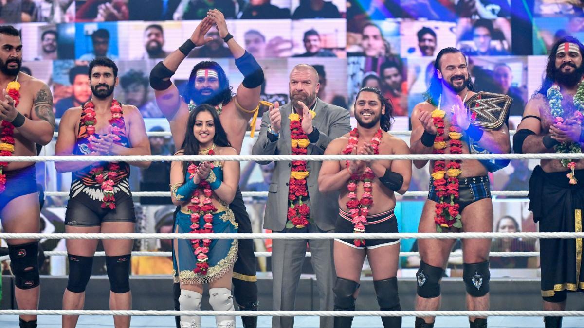 WWE dobra seus números com visibilidade na Índia