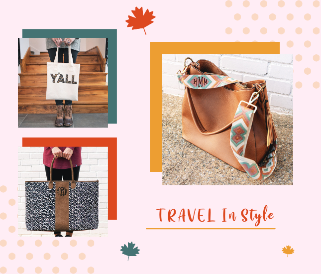 Traveling Monograms from marleylilly.com