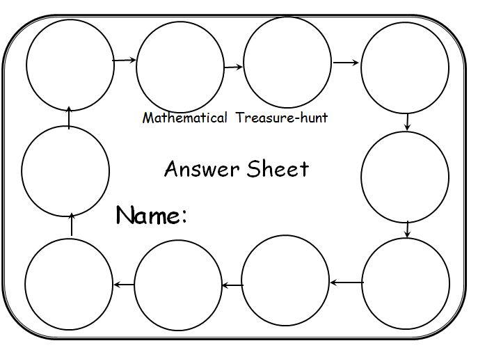 Beautiful Math: Treasure Hunts
