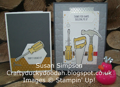 Stampin' Up! UK Independent Demonstrator Susan Simpson, Craftyduckydoodah!, Nailed It, Build It Framelits, Coffee & Cards Project February 2017, Supplies available 24/7,