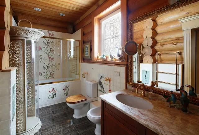 ванные комнаты, как отделать ванные комнаты, ванные комнаты на даче