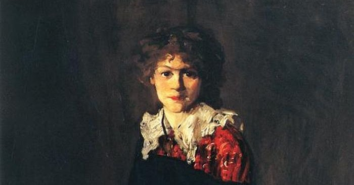 The Art Student (Miss Josephine Nivison) Robert Henri, 1906.