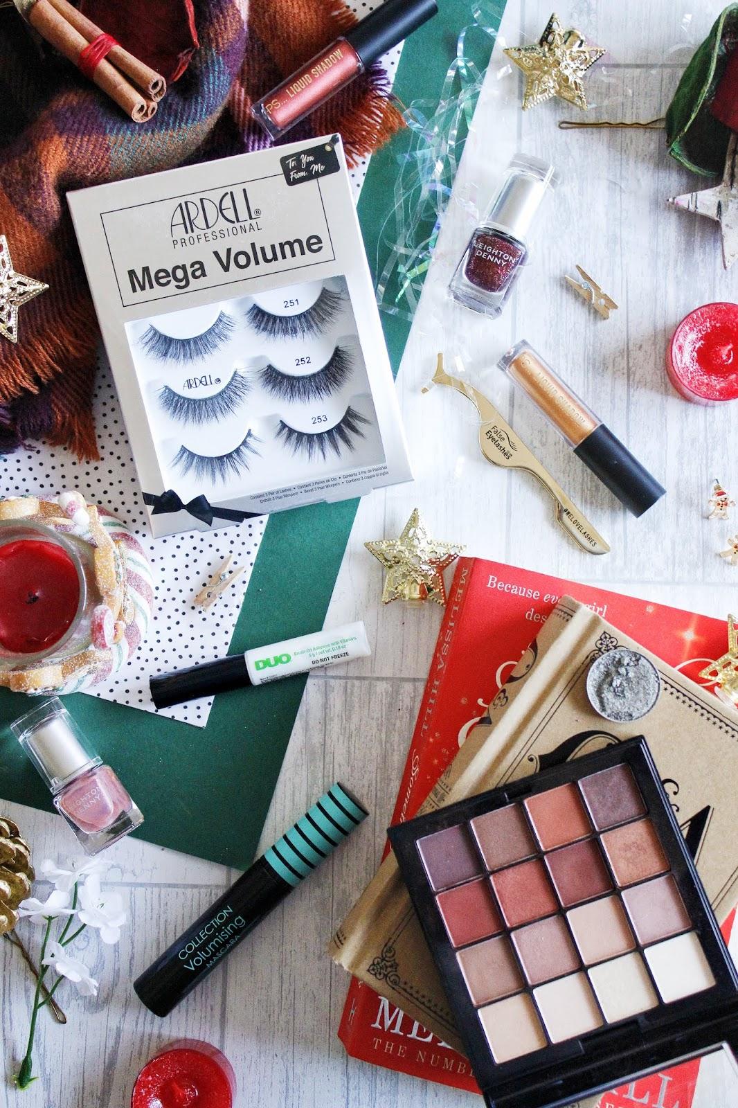 festive makeup with falsheyelashes.co.uk -see the stars
