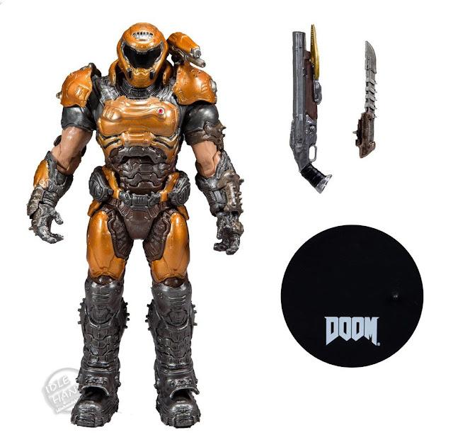 Toy Fair 2020 McFarlane Toys Doom Slayer Phobos Variant Action Figure