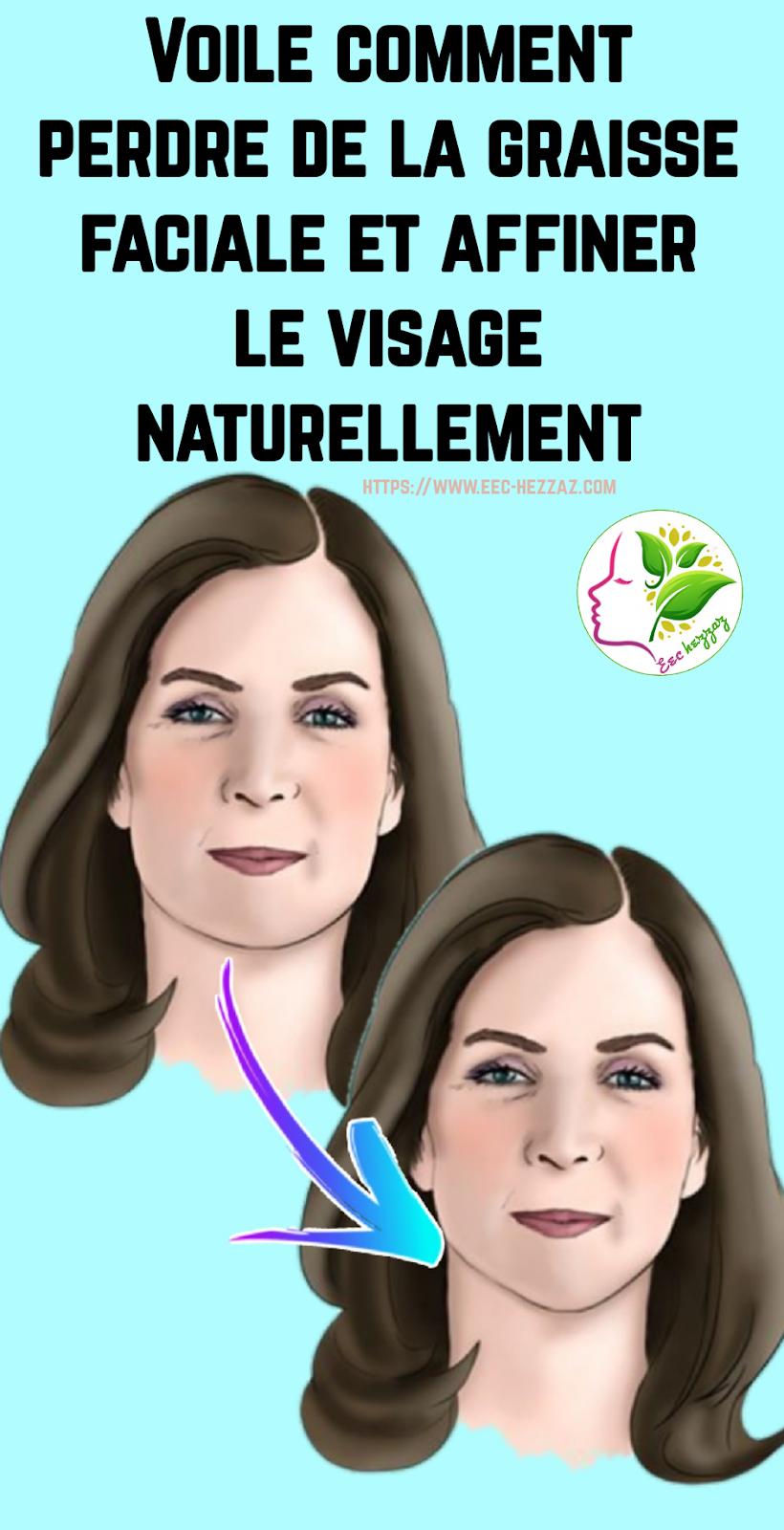 Voile comment perdre de la graisse faciale et affiner le visage naturellement