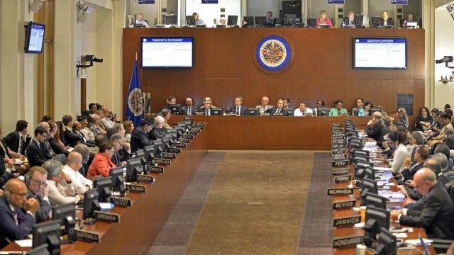 OEA convoca reunión de cancilleres por crisis política, social y humanitaria de Venezuela