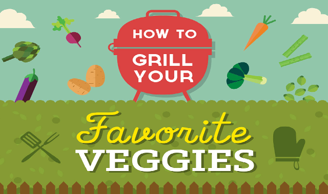 How to Grill Your Favorite Veggies #infographic
