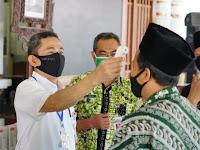 PCNU Terima Bantuan 100 Thermogun dari Pemkab Pati