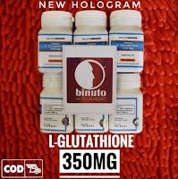L-GLUTATHIONE 350MG NEW GLUTA HOLOGRAM Lglutathione