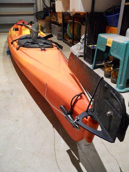 patbeesfishin: My first Ocean Kayak - Scupper Pro