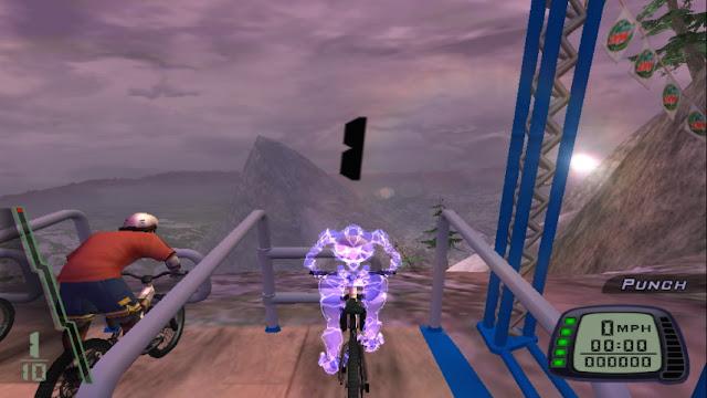 Cara Membuka Pembalap Downhill PS2