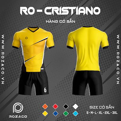 Áo Không Logo Rozaco RO-CRISTIANO Màu Vàng