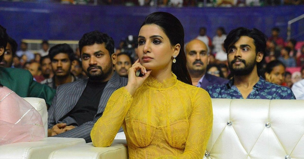 The Fresh Malayali  Samantha Latest Hot Body Show Orange
