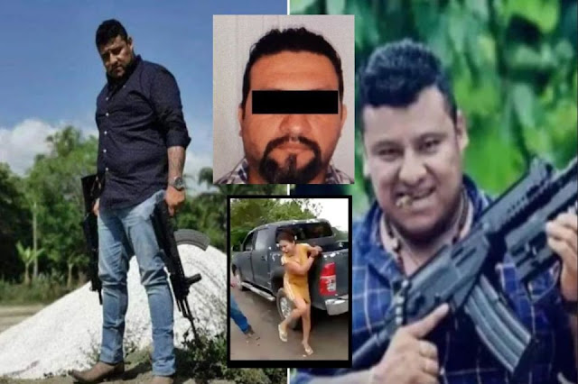 El Pantera derroco a El Kalimba; el capo que le gustaba fanfarronear y azotar a mujeres, Militares no le perdonan y lo capturan en Campeche