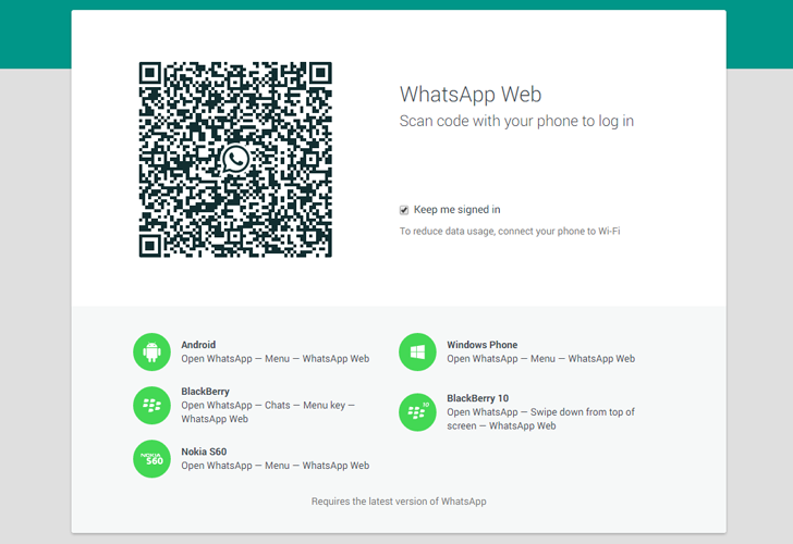 WhatsApp Web — New WhatsApp Feature Allows You to Chat ...