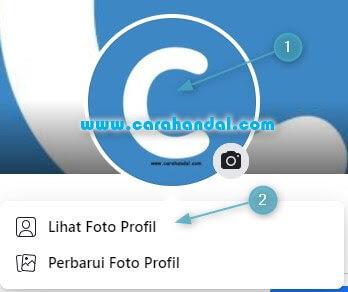 Cara Menghapus Foto Profil Facebook di komputer