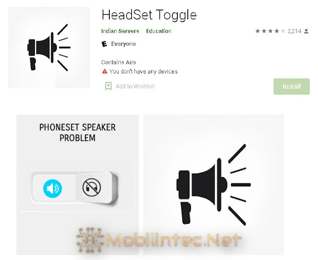 Use the Toggle Headset App
