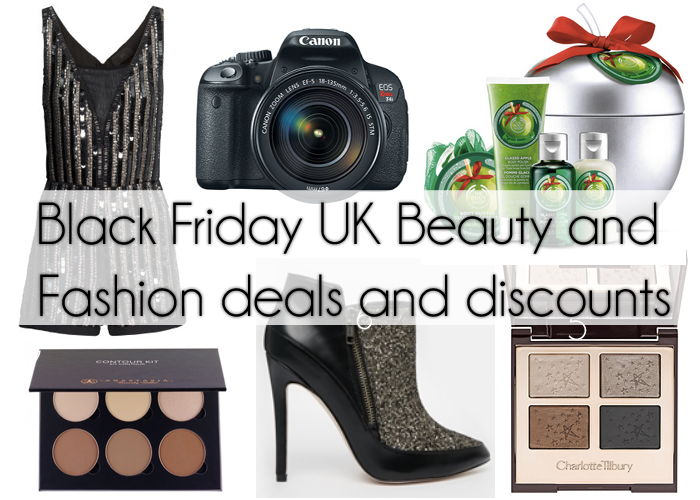 UK Black Friday Beauty And Fashion Deals And Discount
