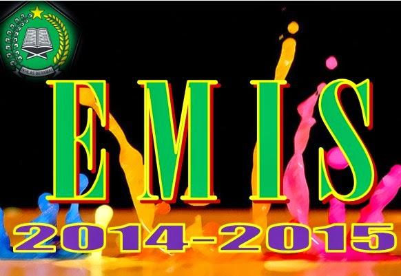 Download Format Pemutakhiran EMIS Kemenag Semester Genap 2014-2015Lengkap
